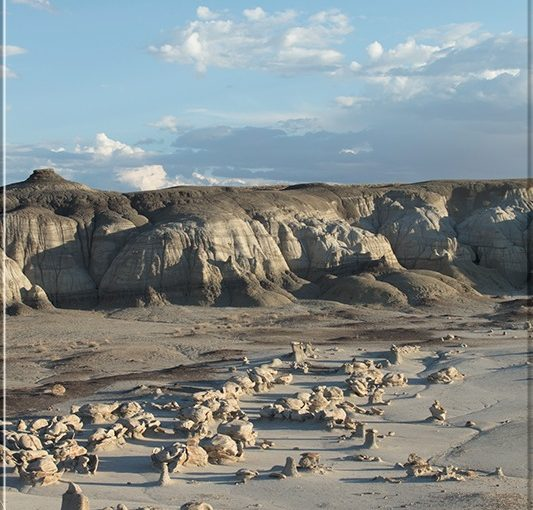Bisti Badlands - New Mexico Daylight